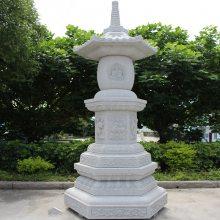 石雕炉塔仿古青石 线雕石塔款式