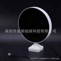 厂家批发影楼相框儿童婚纱灯箱影楼礼品创意10寸魔镜摆台LED台灯