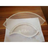 工厂定制弧形亚克力台卡异形有机玻璃展示架S形桌立牌广告宣传牌