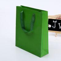 手提袋厂家 白卡纸袋多尺寸可选 欢迎来样订做 购物服装纸袋