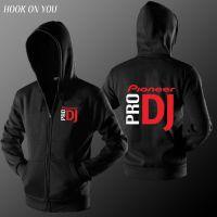 新款先锋DJ Pioneer PRO 男士薄款连帽拉链长袖卫衣潮款