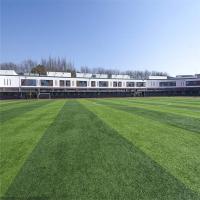 羽毛球场人造草坪 训练场地人造草坪 仿真草施工视频