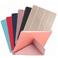 厂家直供 久多缘pu高档平板电脑保护皮套休眠保护壳 iPad折叠保护套 ebay亚马逊