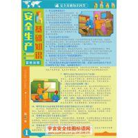 安全生产基础知识 编号YU1712 规格50X70cm 数量6张/套
