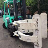 二手杭州3吨夹报叉车、纸卷夹叉车、搬运设备圆抱夹叉车