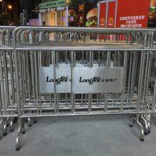 河南郑州不锈钢铁马厂家 停车场分流栏杆 商场临时围挡现货