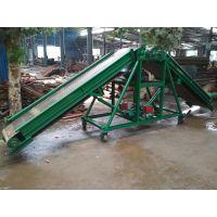 煤矿皮带输送机安全隐患行走式 袋装水泥装卸车用输送机