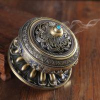 香大号禅意到招财檀香炉茶具香炉浪漫生家用插烧复古熏香炉办公室