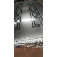 镜面喷砂局部图案电梯装饰不锈钢板
