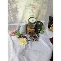 厂家定做白卡纸化妆品包装盒圆筒纸盒包装礼品盒精油圆管彩盒