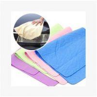 31*20cm鹿皮巾麂皮巾吸水大号擦干头发洗车毛巾擦车巾布汽车用品