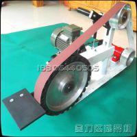 打磨切割机抛光机 卧式电动工具磨刀砂带机 批发台式角磨砂带机