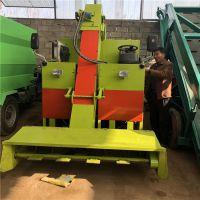自制高强度方管底盘清粪车 传送连续不卡机刮粪车