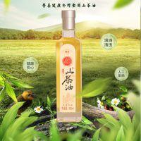 有机纯正山茶油500ML冷榨精炼茶籽油月子食用油非调和一件代发
