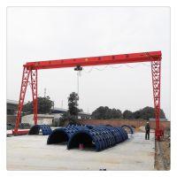 厂家供应轨道式龙门吊 5吨龙门吊 电动葫芦门式起重机 室外行吊
