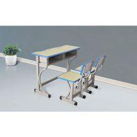 长春学生单人位桌椅定制课桌椅厂家送货安装