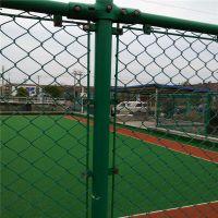 篮球场的围栏 体育场围栏做法 球场护栏网寿命