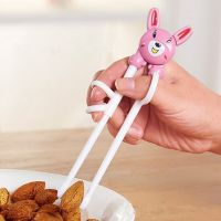 TY婴儿童餐具 宝宝学习训练筷 早教卡通筷子练习筷ABS料筷子