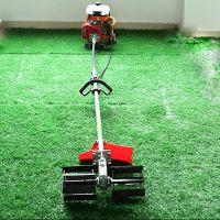 48V充电式锄草机 背负式电动锄头价格 锄草松土机配件