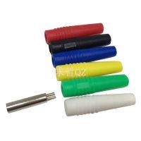 2mm香蕉插2毫米纯铜香蕉母 接线头 香蕉插座电源连接器端子延长头