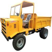 供应优质建筑工地砂石运输爬坡王 四驱液压自卸运输车 矿用四轮拖拉机