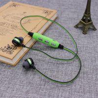 磁吸无线运动双边立体声耳机迷你金属入耳式手机蓝牙耳机跨境爆款