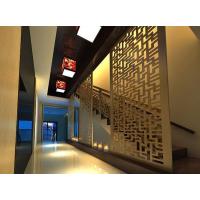 专业定制酒店别墅装修专用装饰板材波浪板雕刻板通花板