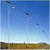 单臂欧式太阳能led路灯