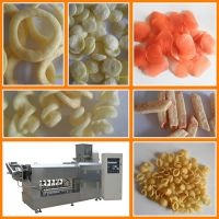 油炸型奇多条生产线,粟米条江米条休闲零食小吃生产设备