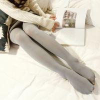 新款春秋女哑光80D中厚天鹅绒微压显瘦美腿打底丝袜 抗起球连裤袜