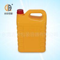 销售塑料扁罐5L 化工水性包装塑料罐5公斤价格优惠