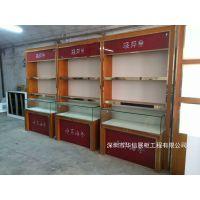 华信参茸展示柜制作工厂,虫草展柜厂家定制价格