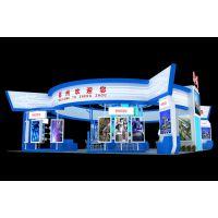 郑州人才政府展 展览设计四面开口3d展示展台模型 展位搭建设计