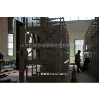 哈尔滨伸缩式悬臂货架 厂家直销 管材存取难题 钢管货架