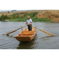 供应4米小渔船 双桨手划船 钓鱼船 农业木船 养殖捕鱼船 景区河道保洁船
