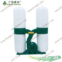 木工布袋吸尘器双桶5.5千瓦吸尘机 工业机械集尘器 单双桶移动式雕刻机除尘器