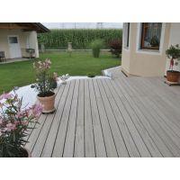 工厂直营 户外塑木地板 PVC双层共挤户外地板 木塑地板
