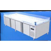 三门峡冰鲜台-冠威制冷设备商用冰台-冰鲜台品牌