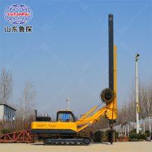 履带方杆旋挖桩机XWDF-22大口径打桩机价格 山东鲁探供应