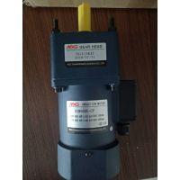 铭椿微型减速机5IK60GN-CFT+5GN3K1/3,60W,单相220V,输出轴12.带接线盒