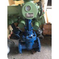 常州MZ941Y-64V矿用煤安电动高温法兰闸阀