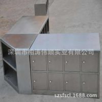 【直销】不锈钢工作台 深圳厂家直销定做 量大优惠不锈钢桌带柜子