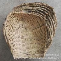 手工竹器  泥篸竹制品 竹编织 竹奋箕