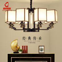 新中式客厅灯仿古创意卧室书房吊灯古典艺术厢房餐厅酒店会所灯具