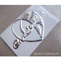 供应三维金属贴画 金属贴图标牌