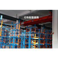 上海放管材用什么货架 伸缩悬臂式货架销售 钢材库专用