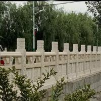 晚霞红石栏板雕刻 楼梯栏杆设计 电话议价 石雕栏杆