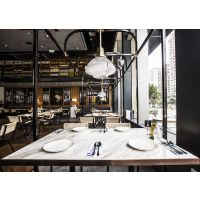 【名设网餐厅设计效果图】餐厅设计之餐桌餐椅摆放风水