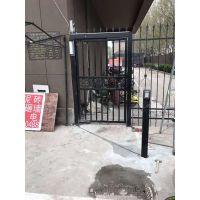 深圳冷雨曲臂开门机批发商LEY700HM 侧装室外铁艺大门门中门电动闭门器 遥控八字开电机