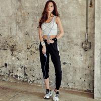 韩国2018运动夏季瑜伽服速干跑步健身房新款套装专业宽松健身服女